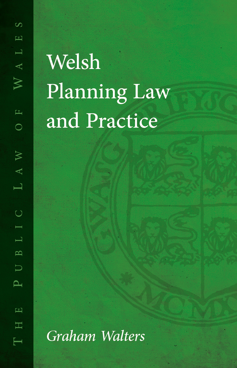 Welsh Planning Law and Practice