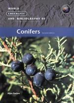 World Checklist and Bibliography of Conifers (Second Edition)