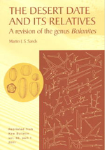 The Desert Date and its Relatives: a revision of the genus Balanites