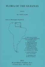 Flora of the Guianas. Series A. Phanerogams Fascicle 22