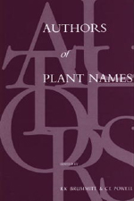 Authors of Plant Names