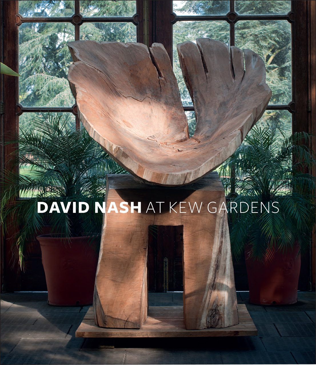 David Nash at Kew Gardens