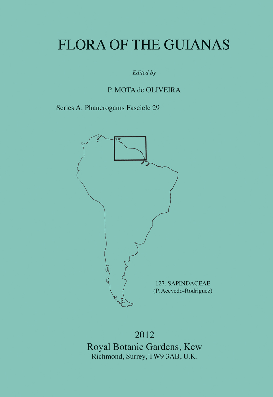 Flora of the Guianas Series A: Phanerogams Fascicle 29
