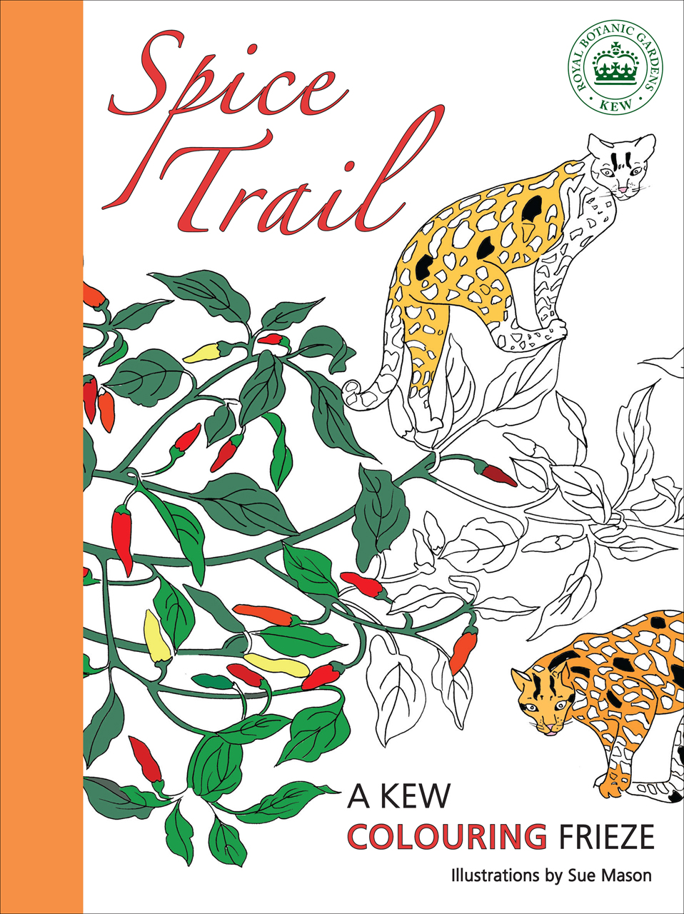 Spice Trail: A Kew Colouring Frieze