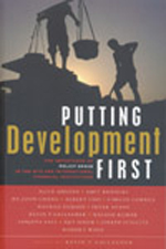 Putting Development First