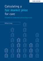 Calculating a fair market price for care