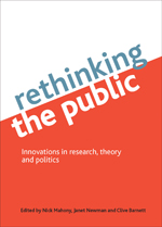 Rethinking the public: Innovations in research, theory and politics