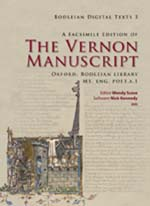 A Facsimile Edition of the Vernon Manuscript: A Literary Hoard from Medieval England