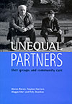 Unequal partners: User groups and community care
