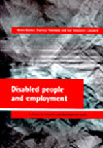 Disabled people and employment: A review of research and development work
