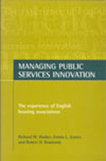 Managing public services innovation: The experience of English housing associations