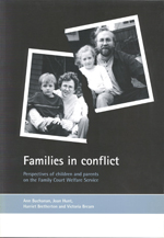 Families in conflict: Perspectives of children and parents on the Family Court Welfare Service