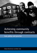 Achieving community benefits through contracts: Law, policy and practice