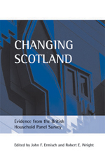Changing Scotland: Evidence from the British Household Panel Survey