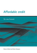Affordable credit: The way forward