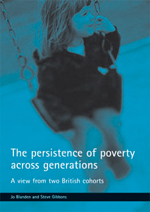 The persistence of poverty across generations
