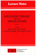 Situation Theory and Its Applications, Volume 3