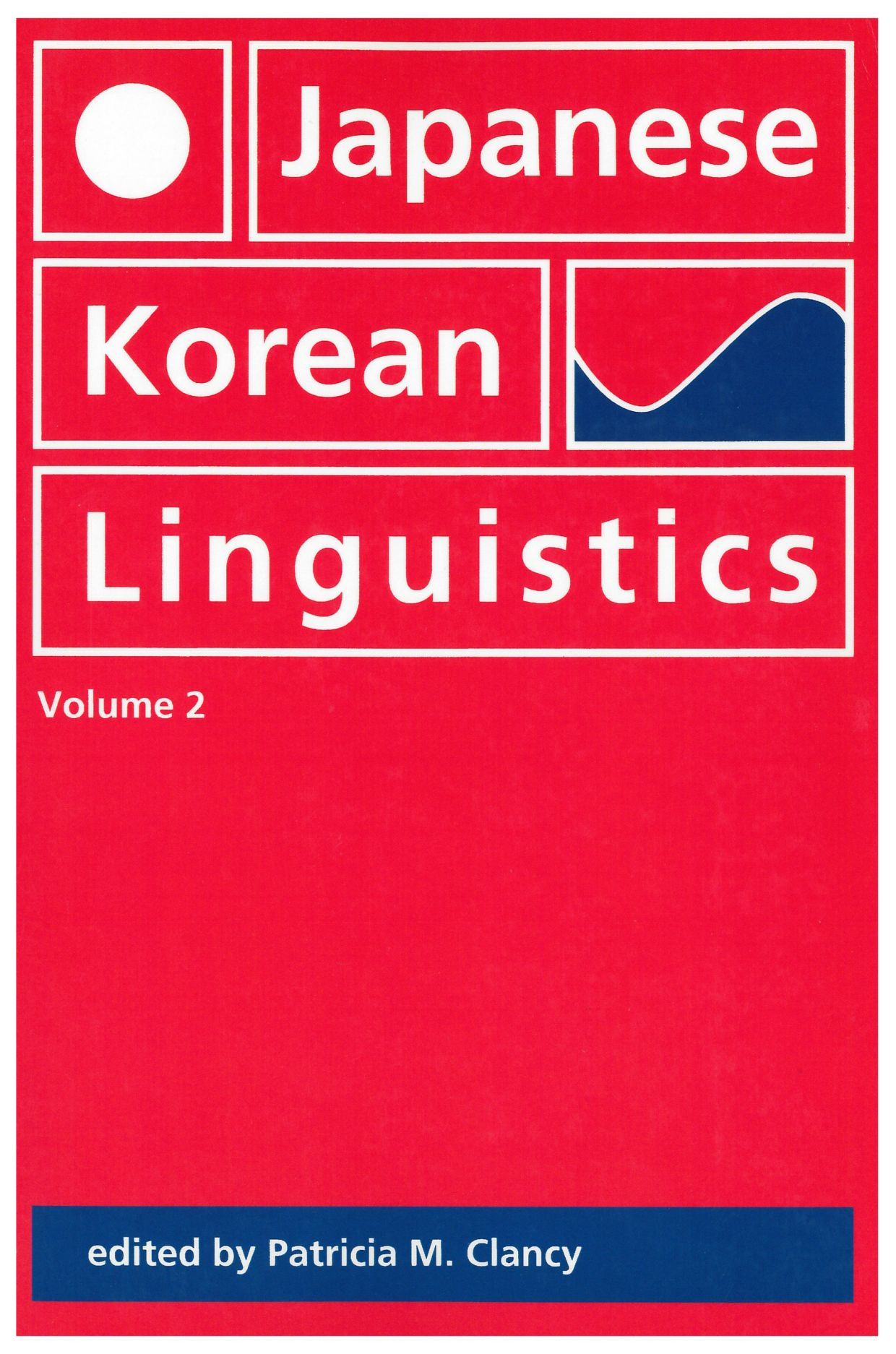 Japanese/Korean Linguistics, Volume 2