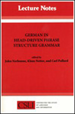 German in Head-Driven Phrase Structure Grammar