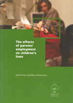 The Effects of Parents' Employment on Children's Lives