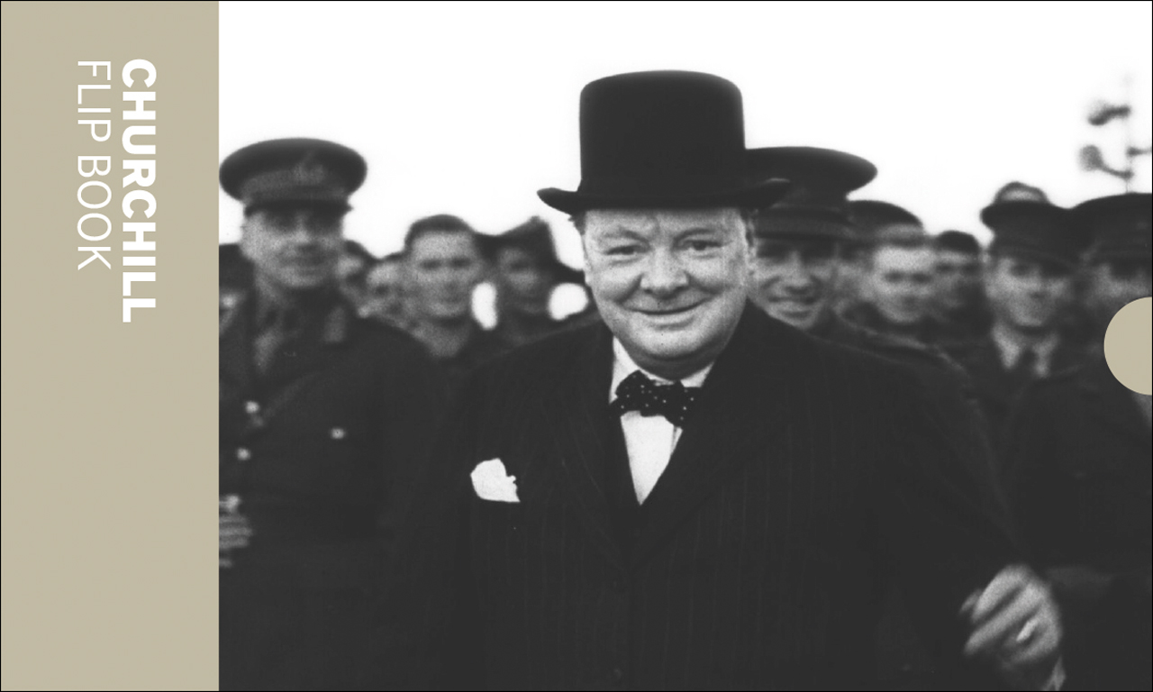 Churchill: Flip Book