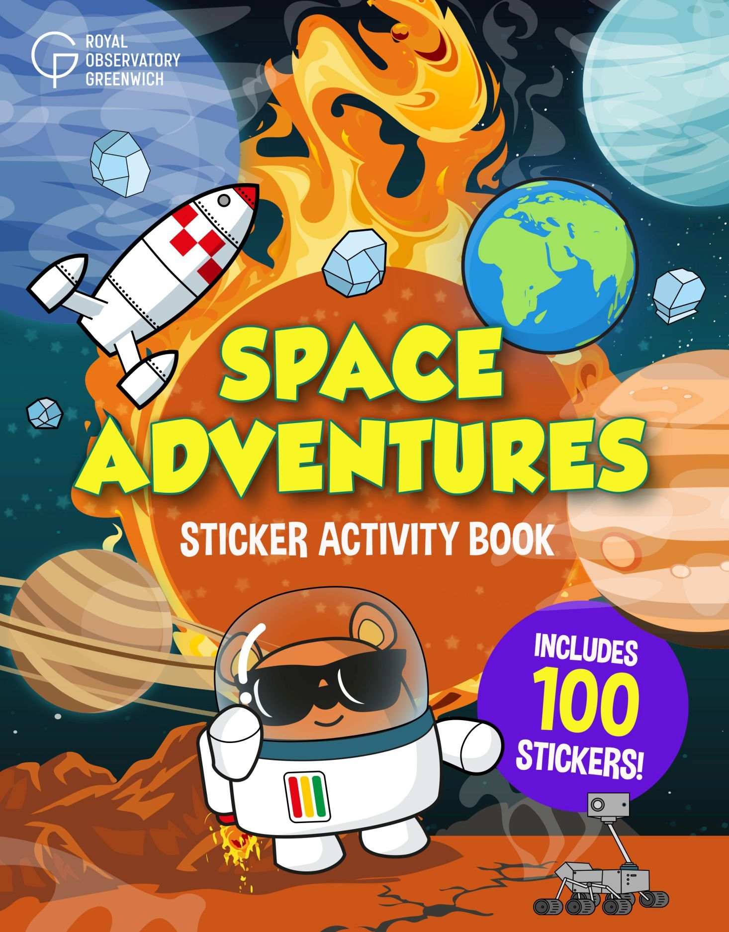 Space Adventures: Sticker Activity Book