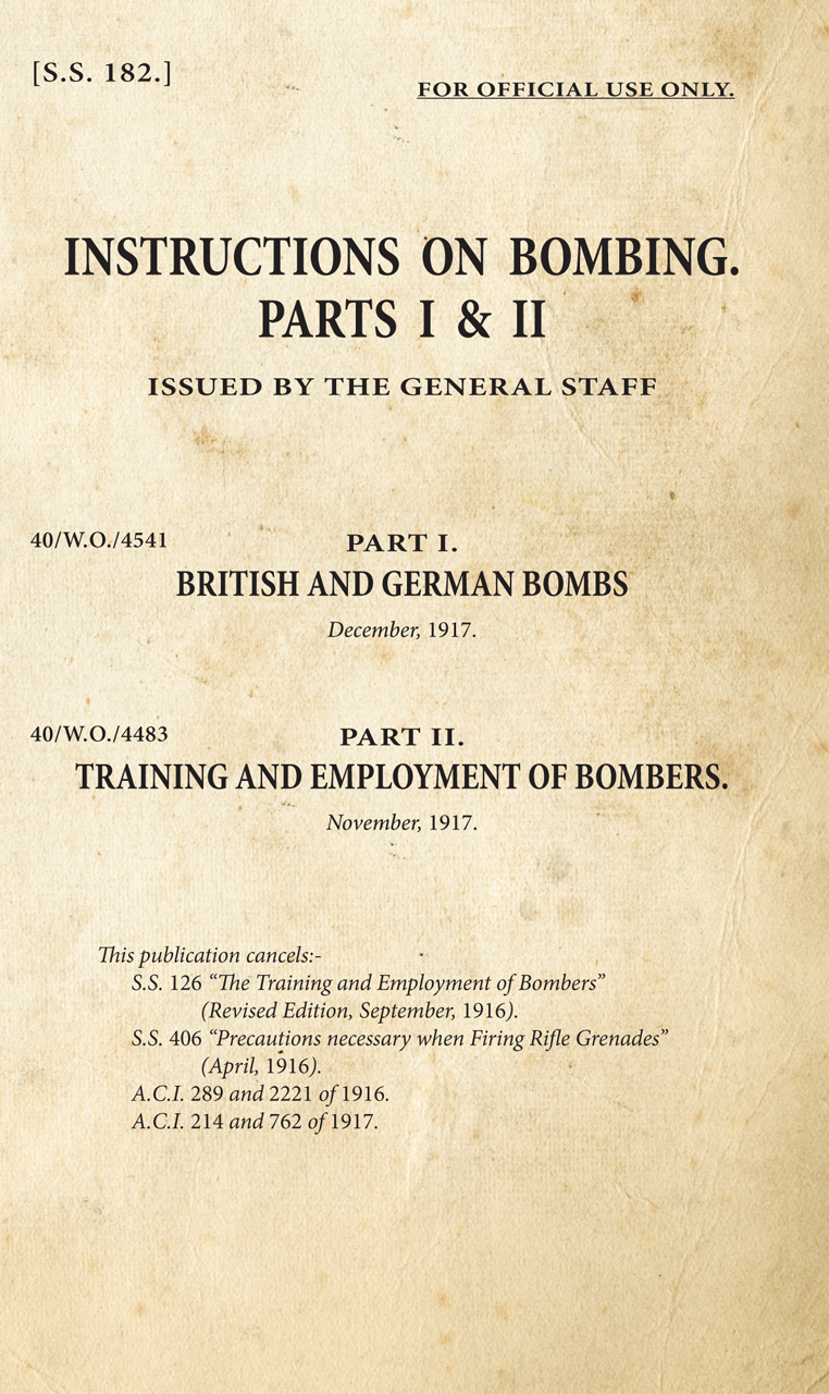 Instructions on Bombing Parts I and II