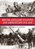 British Artillery Weapons & Ammunition