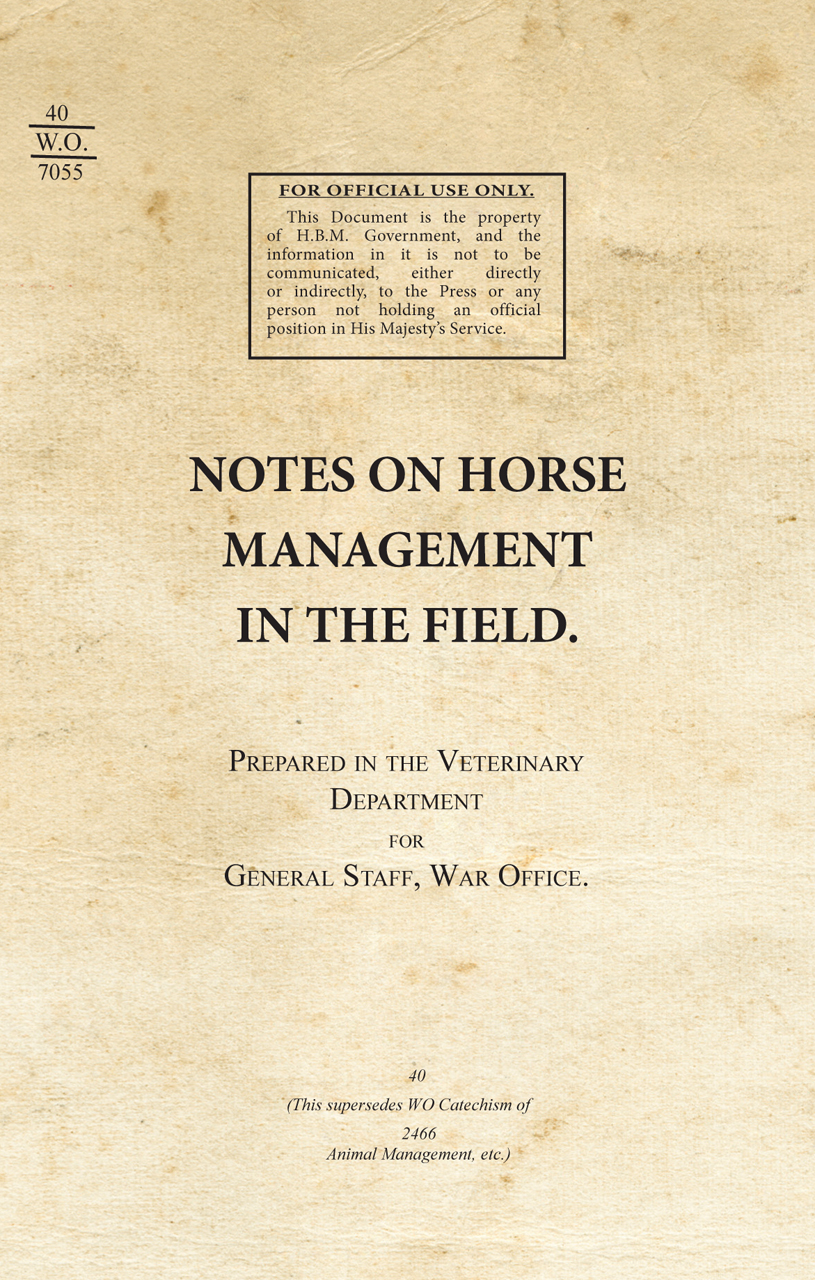 Notes on Horse Management in the Field (1919)