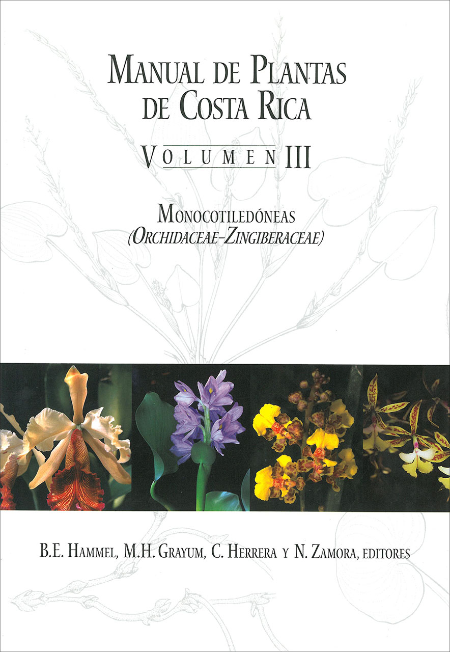 Manual de Plantas de Costa Rica, Volumen III