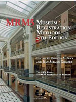 Museum Registration Methods 5th Edition