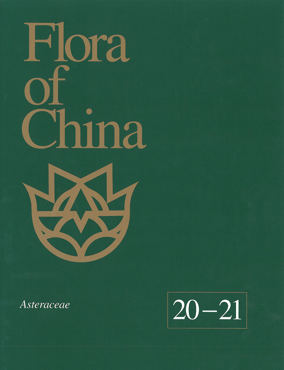 Flora of China, Volume 20-21