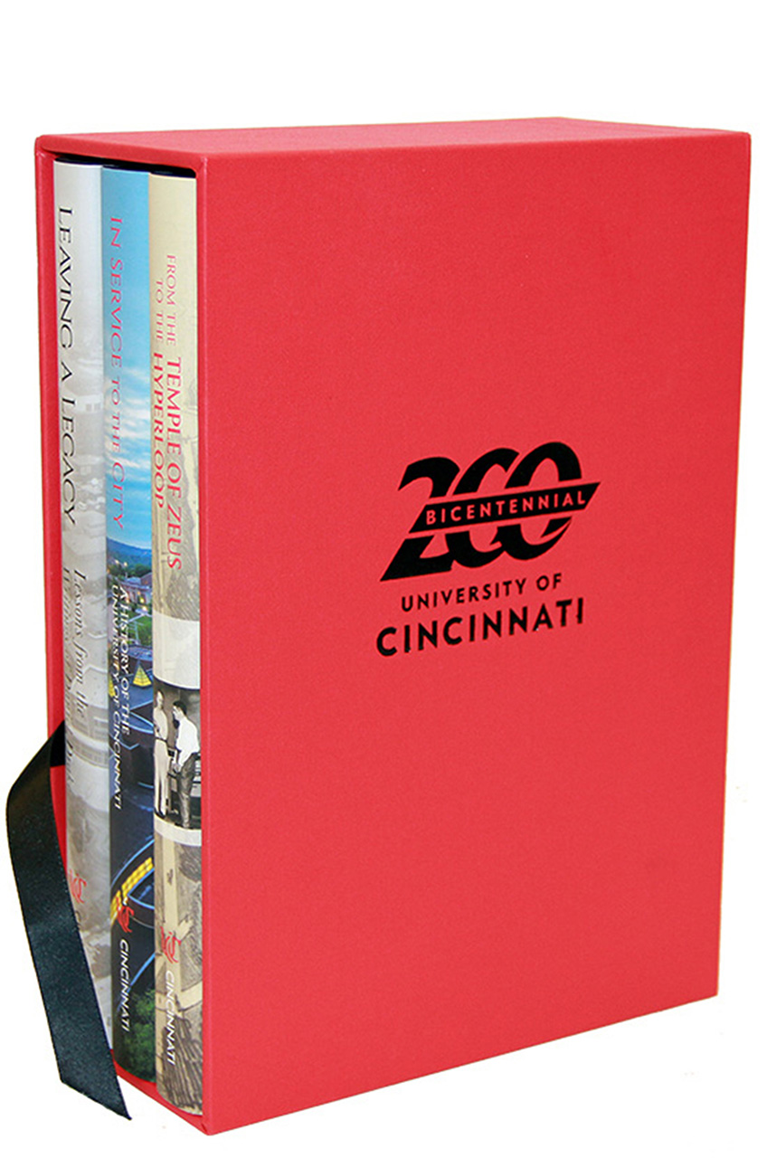 200 Years of the University of Cincinnati: Three Volume Set with Slip Case