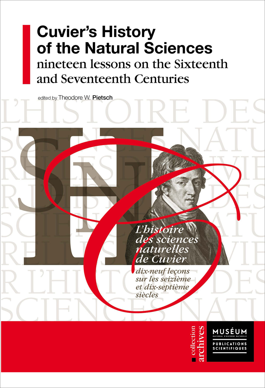 Cuvier's History of the Natural Sciences: Nineteen Lessons from the Sixteenth and Seventeenth Centuries