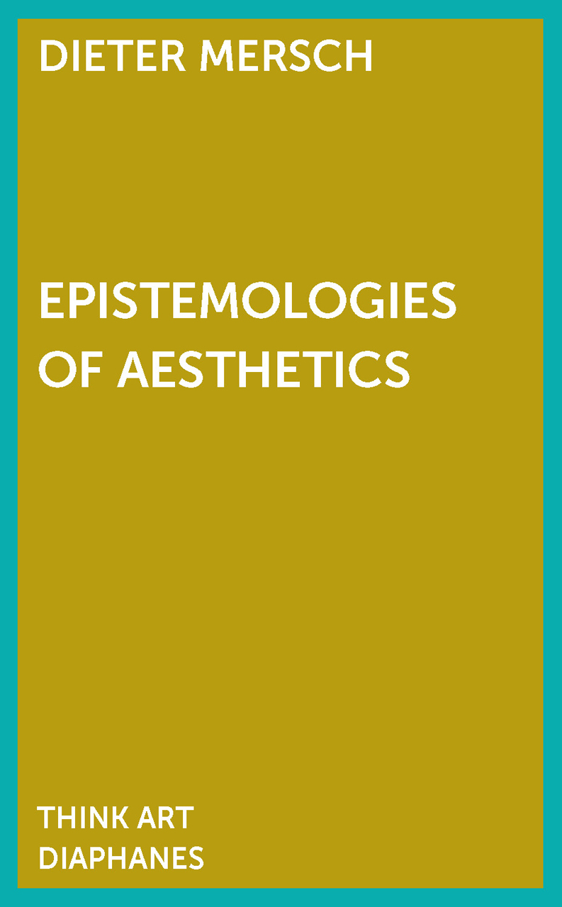 Epistemologies of Aesthetics