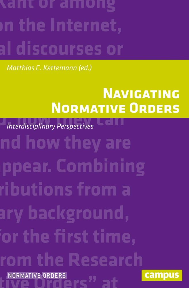 Navigating Normative Orders: Interdisciplinary Perspectives