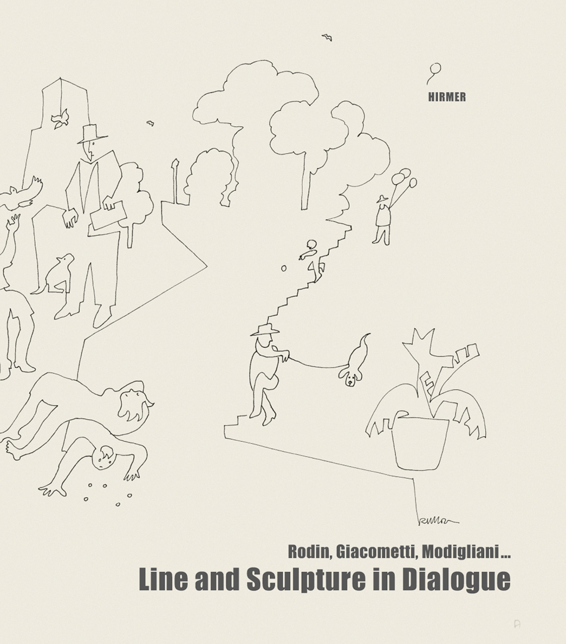 Line and Sculpture in Dialogue