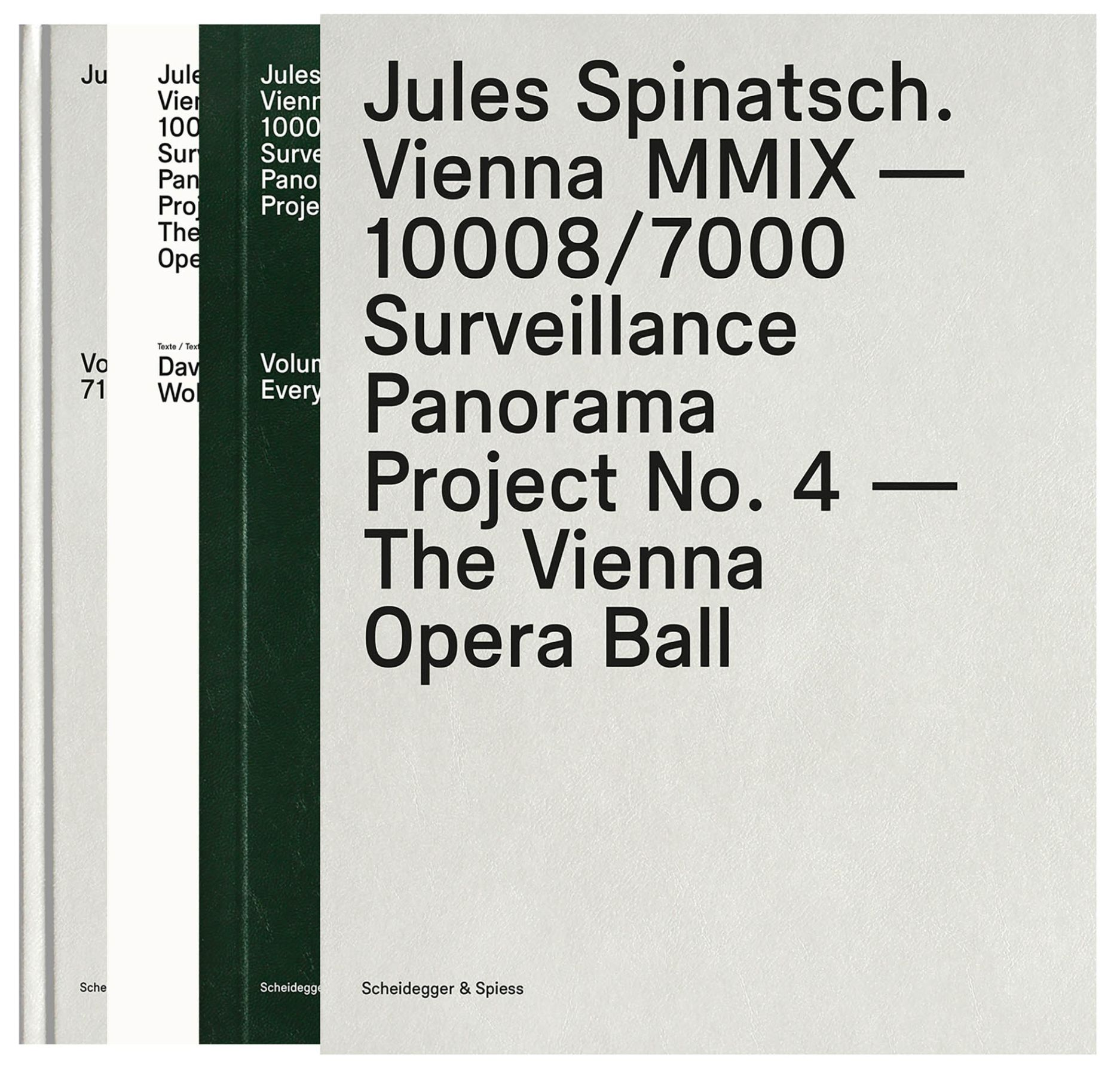 Jules Spinatsch. Vienna MMIX-10008/7000: Surveillance Panorama Project No. 4 - The Vienna Opera Ball