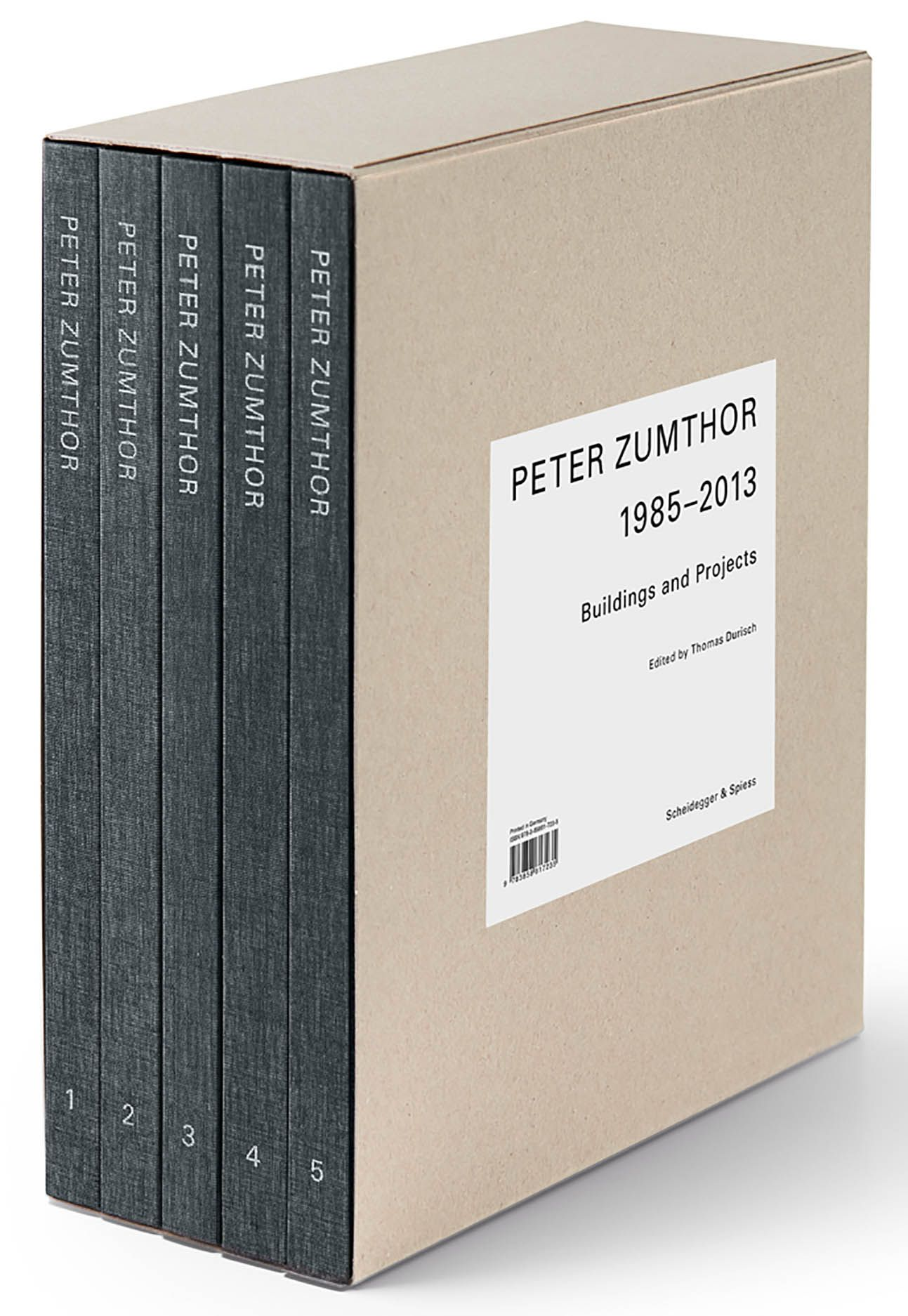 Peter Zumthor - German Edition 5 Vols.