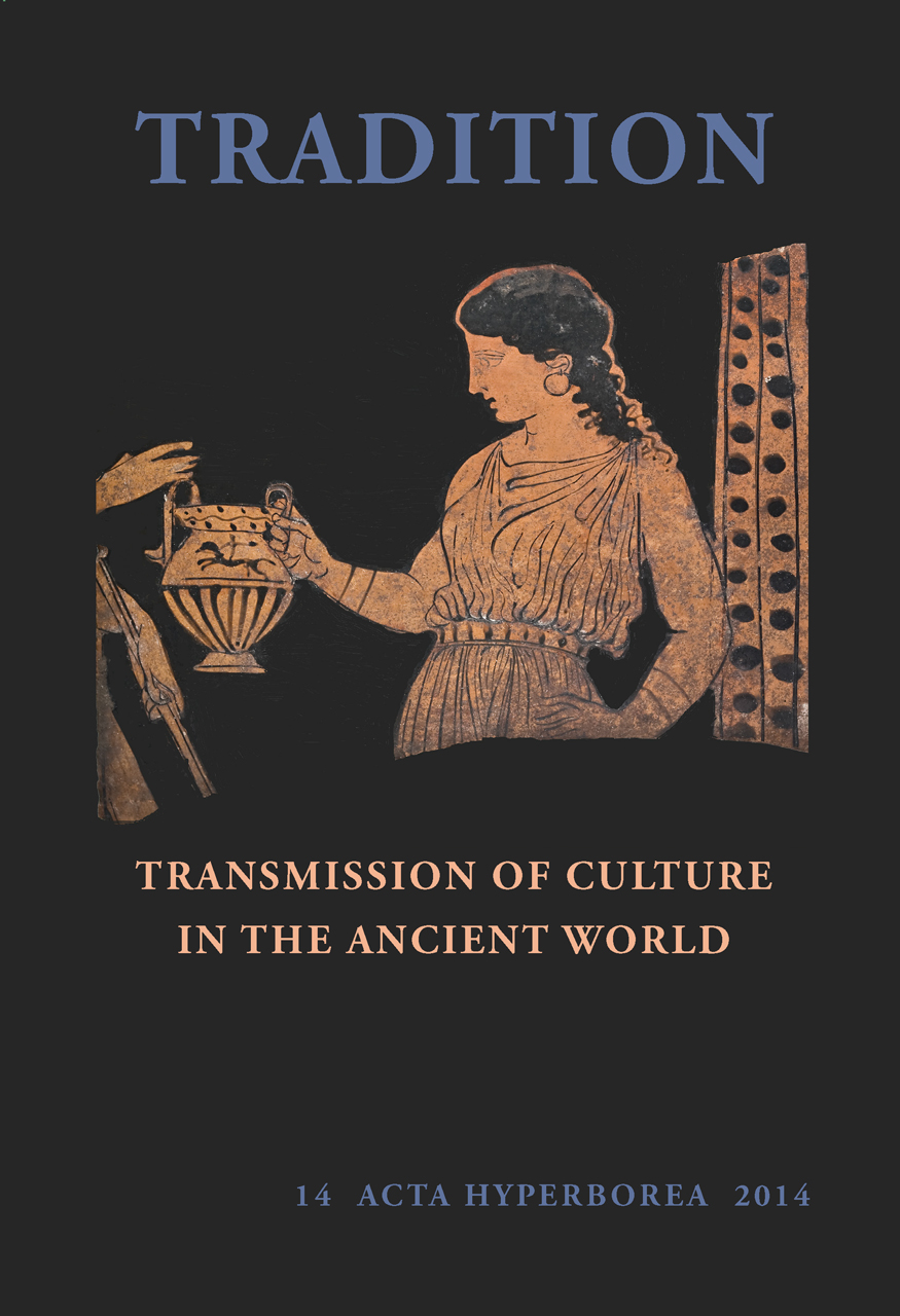 Tradition: Transmission of Culture in the Ancient World