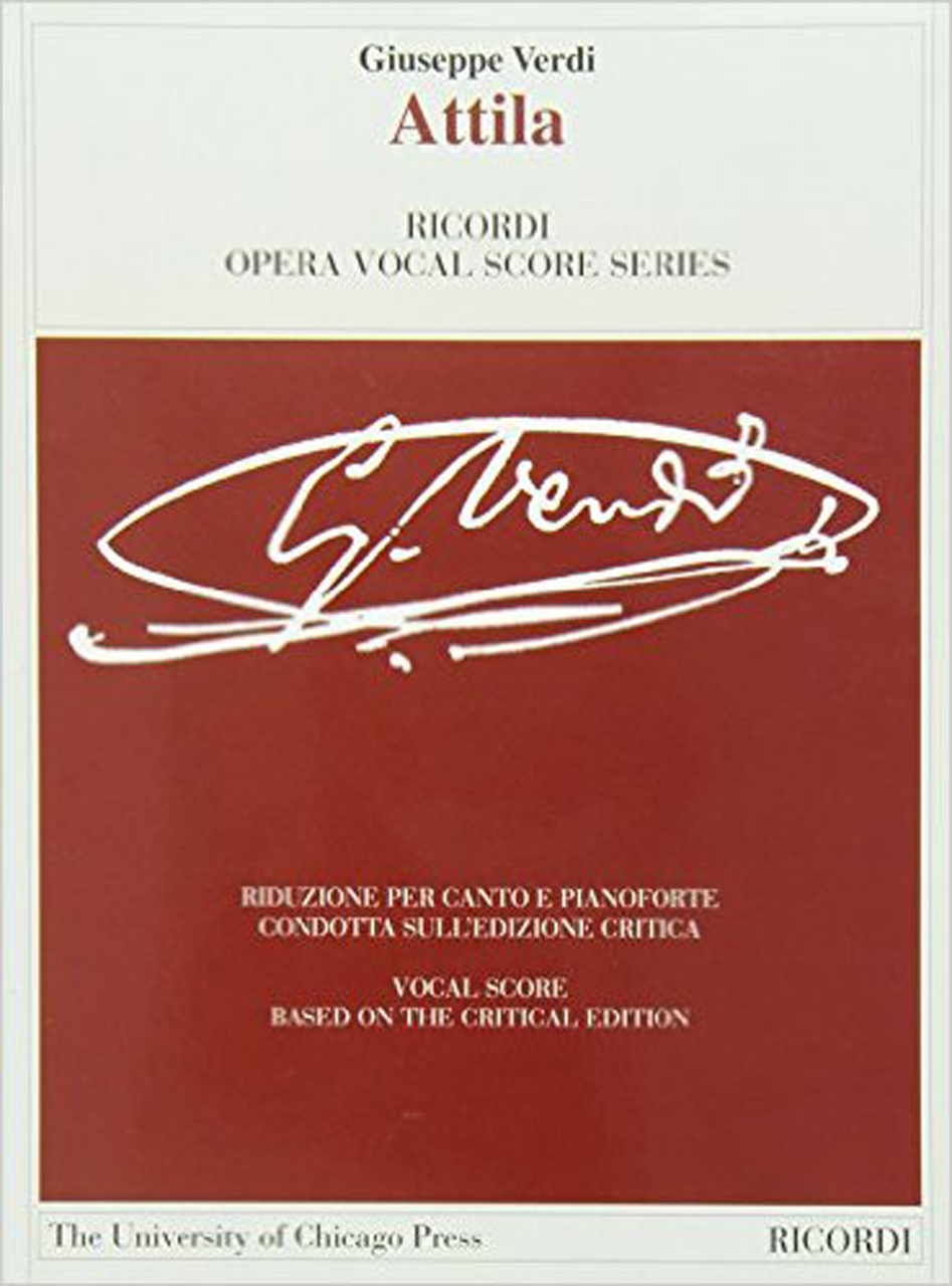 Attila: The Piano-Vocal Score