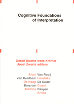 Cognitive Foundations of Interpretation
