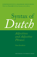 Syntax of Dutch: Adjectives and Adjective Phrases