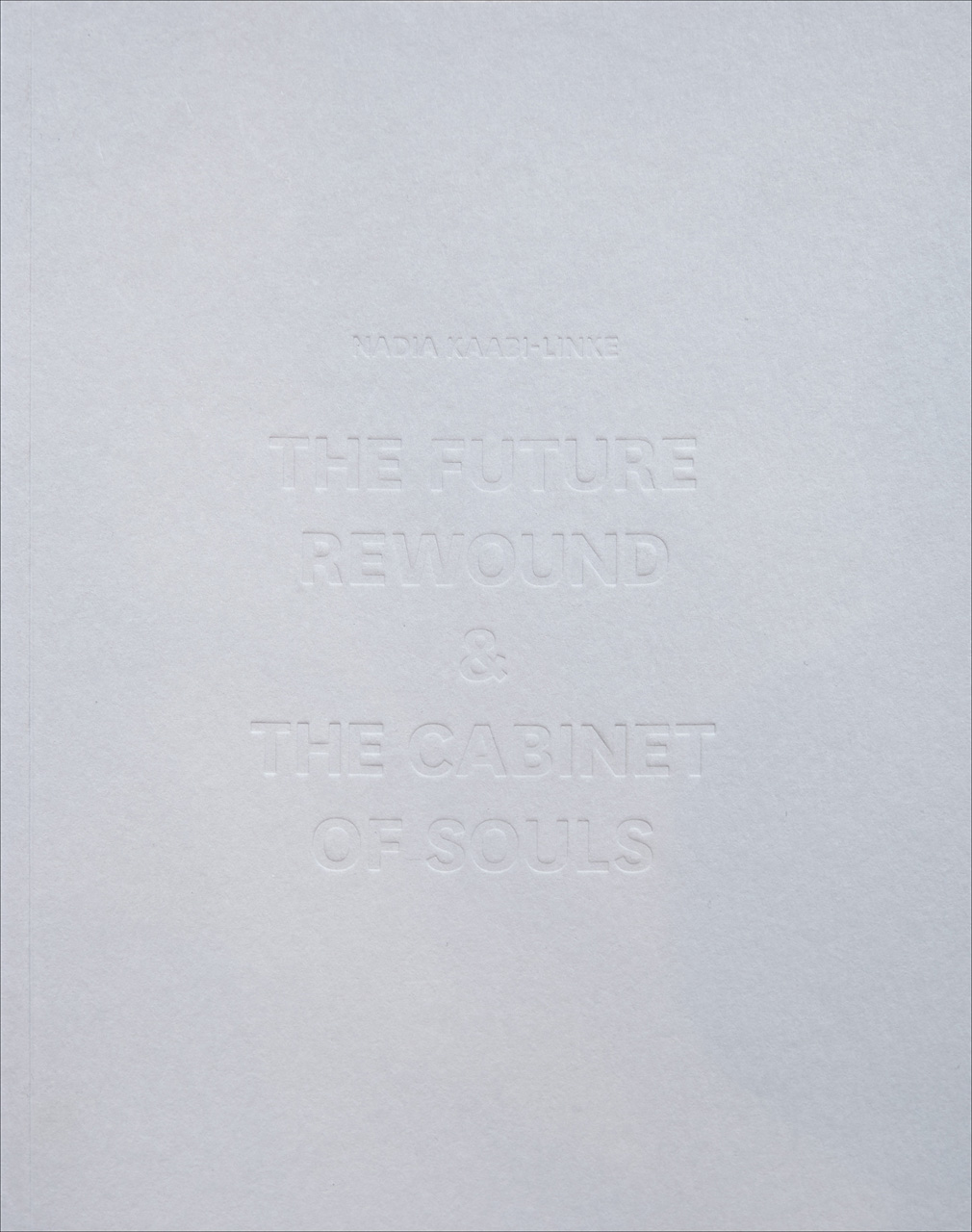 The Future Rewound and the Cabinet of Souls